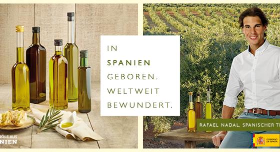 Olivenöle aus Spanien und Rafa Nadal: aus Spanien und weltweit bewundert